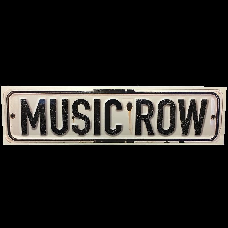 Music Row Bumper Sticker