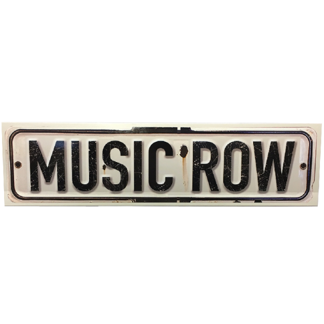 Music Row Bumper Sticker