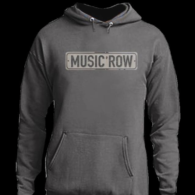 Music Row Charcoal Hoodie